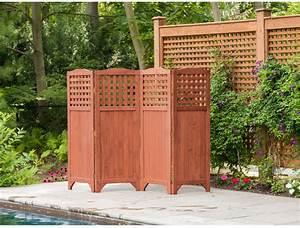 Folding, Patio, Garden, Privacy, Screen, Outdoor, Wood, Fence, Room, Divider, Portable