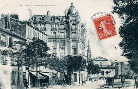 avenue f 233 lix faure xve arr cartes postales anciennes sur cparama