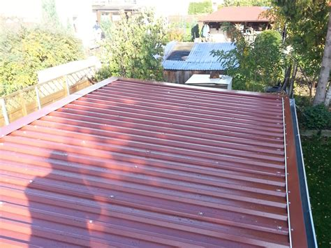 sandwichplatten dach unterkonstruktion sandwichplatten dach unterkonstruktion fotostrecke montage pfannenprofilblechen der