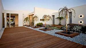 100 Modern House Backyard Design Ideas - Beautiful ...  Modern