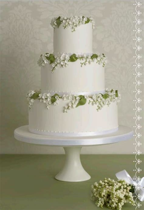 wedding wednesday floral inspired iced wedding cakes