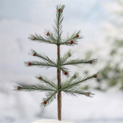 decorated feather tree christmas trees and toppers christmas and winter holiday crafts