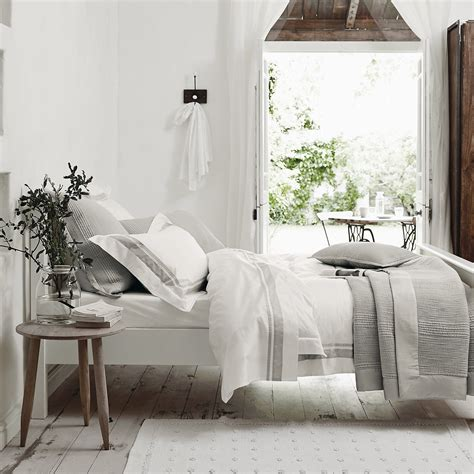brompton bed linen collection bedroom  white company   master bedroom design