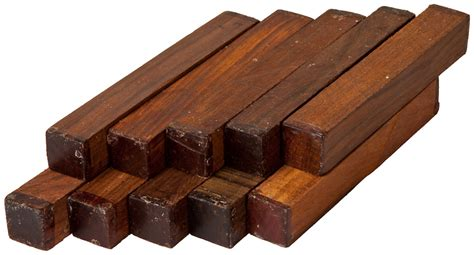 Cocobolo Rosewood Pen Blanks - 10 Pack