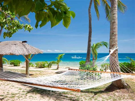 Hammock Resort Employment by Malolo Island Resort Beachfront Hammock My Fiji