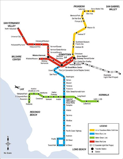 Light Rail Map by The Light Rail Conundrum From Los Angeles To Atlanta Lrt