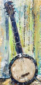 Sunshine Banjo Original Painting on canvas. I grew up in ...
