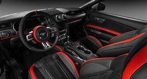 Thoughts On This Euro-Tuned Mustang GT Convertible's Custom Interior?   Carscoops