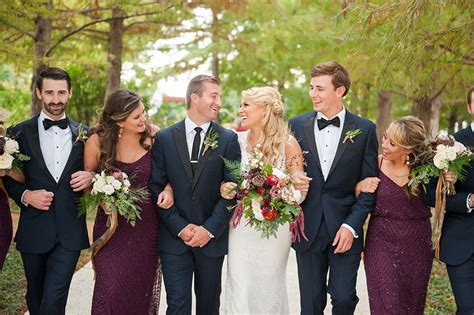 fall oklahoma wedding at park house at myriad gardens