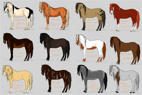 Rare/ natural coat horse adopts by DarksDespair on DeviantArt