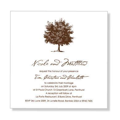 Formal Wedding Invitation Wording Etiquette (parte Two