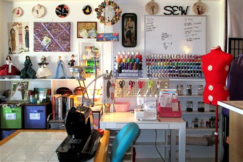 organizing your craft room on a budget vintage paint sewing room organization ideas