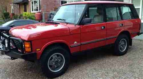 Buy Used 1992 Range Rover Classic In Seattle, Washington