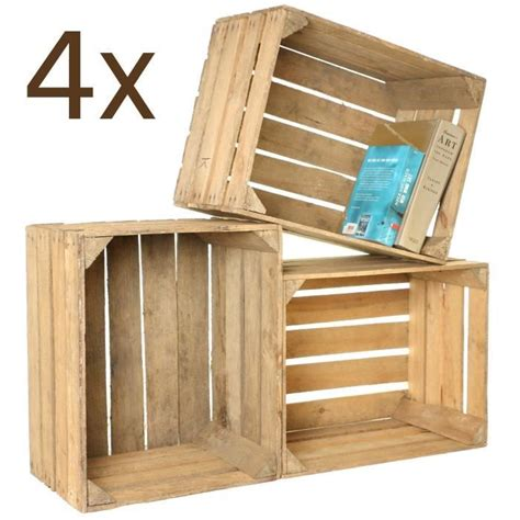 caisse de rangement du bois achat vente pas cher