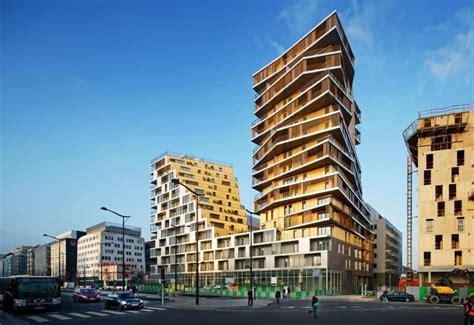 Futuristic Residential Building Design In Paris