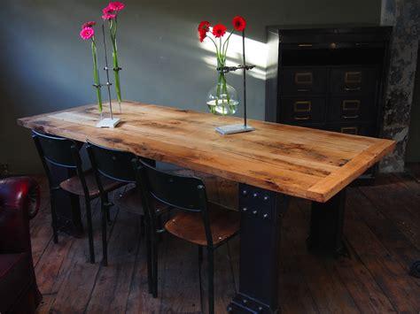 table cuisine industrielle table cuisine industrielle conceptions de maison