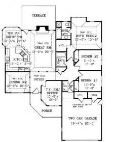 Ponderosa Ranch House Floor Plan