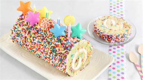 confetti cake roll recipe bettycrockercom