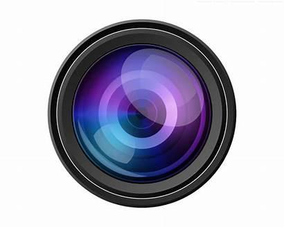 Camera Lens Transparent Broken