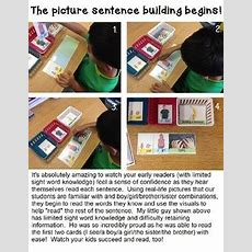 Autism Picture Sentence Cards For Readingwritingsentence Building