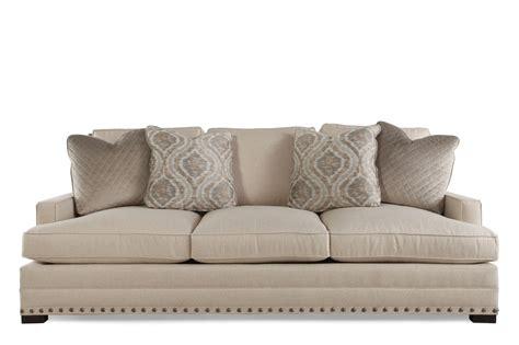 bernhardt sofas traditional low profile 94 quot sofa in beige mathis