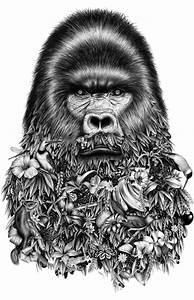 Surreal graphite drawings by violaine jeremy merge for Surreal graphite drawings by violaine jeremy merge nature and humor