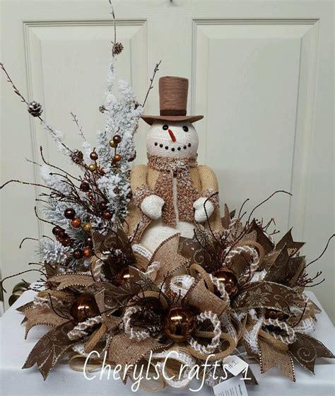 Snowman Table Decorations - 1000 ideas about centerpieces on