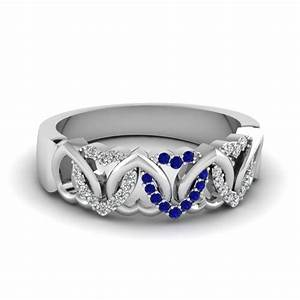 Buy Stunning Sapphire Wedding Bands For Women