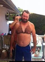 Chest fun guy hairy top