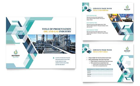 Oil And Gas Company Powerpoint Presentation Template