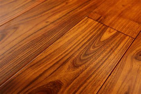 thick rich color mongolian teak hardwood flooring