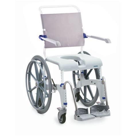 invacare aquatec shower commode chair self propel
