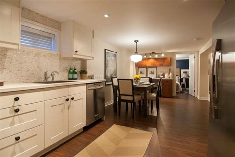 Kitchen Floor Green Cars Meaning by Open Concept Basement Apartment Income Property Hgtv
