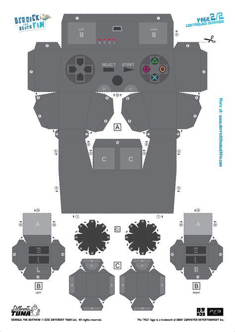 controller paper template derrick  deathfin  sale