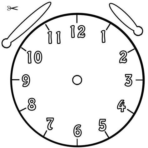 Uhr Zum Basteln Kostenlose Malvorlage Uhrzeit Lernen Ausmalbild Uhr Zum Ausmalen