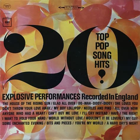 Since the 1960's that she has recorded some of pop music's most memorable songs, alongside with her acting skills. 20 Top Pop Song Hits Explosive Performances - Recorded In England (Vinyl)   Discogs