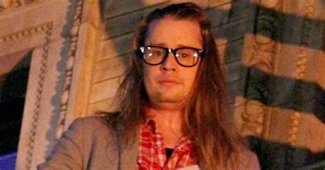 Macaulay Culkin Is Barely Recognizable In Nyc Pics Us