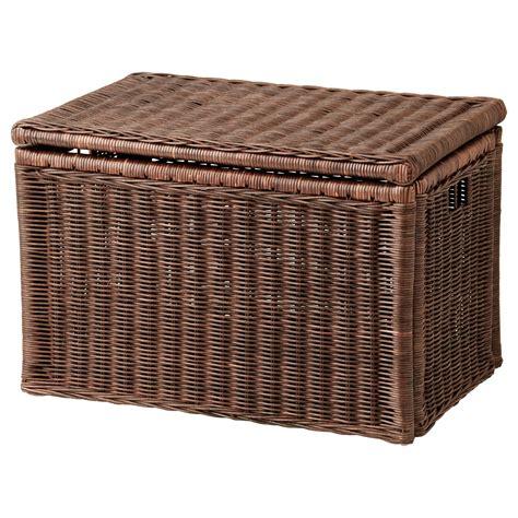 storage box gabbig storage box brown 71x45x48 cm ikea