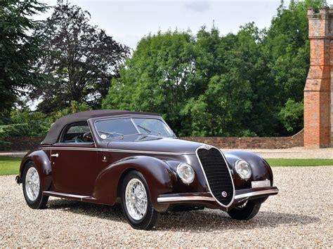 Alfa Romeo 6c 2500 by Alfa Romeo 6c 2500 Sport Cabriolet 1939