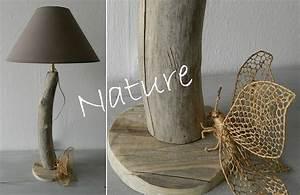 Lampe Chevet Bois Flotté : lampe de chevet n 46 au fil de l 39 eau bois flott ~ Teatrodelosmanantiales.com Idées de Décoration