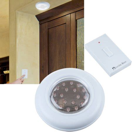 cordless ceiling wall light with remote control light