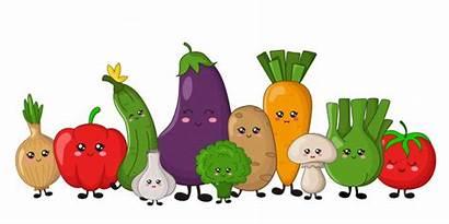 Kawaii Broccoli Vegetables Celery Cucumber Potato Carrots