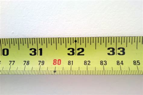 Tape Measure, How To Read Metric And Imperial