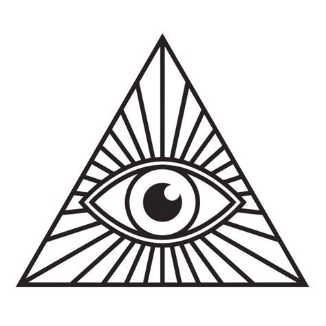 Illuminati Pyramid Eye Illuminati Eye Pyramid Vinyl Decal Sticker For Car Truck
