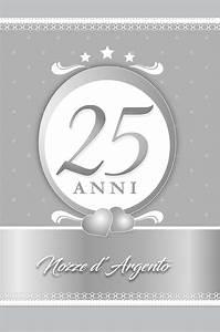Biglietto Auguri 25 Anniversario Di Matrimonio Art 049