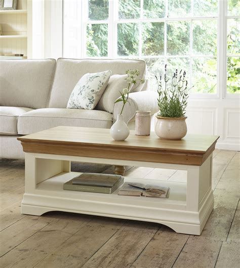 You'll have the ability to easily straighten out what suitable and what does not, and make thinning your. Country Cottage Natural Oak and Painted Coffee Table | Oak furniture living room, Quality living ...