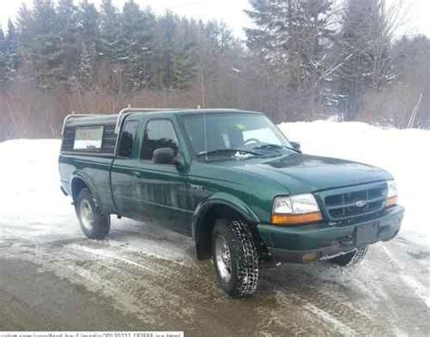 buy used 1999 ford ranger xlt 4x4 4 0l run s and drive s great low mileage in roxbury