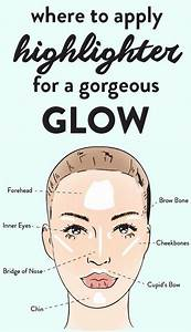 Where To Apply Highlighter For A Gorgeous Glow This Is How