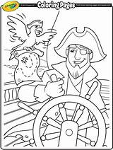 Coloring Pages Pirate Pirates Colouring Crayola Sheets Helm Ship Worksheets Homework Printables Folder Adventure Preschool Visit Things sketch template