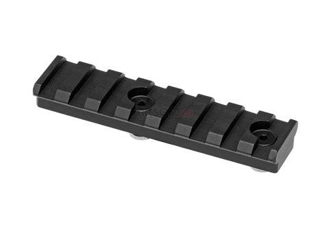 keymod rail section keymod picatinny rail section 8 slots leapers mounting